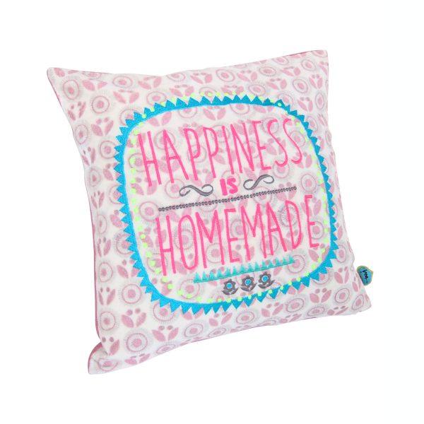 Kissen Happiness is Homemade Pillow Cushion 30 x 30 cm Taj Wood & Scherer