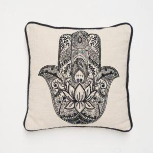 Zenza Kissen Hamsa Hand Pillow
