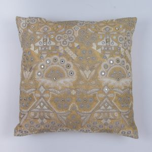 Zenza Kissen Bohemian Natural Square Pillow