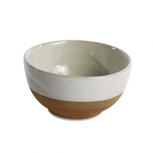 Mali ceramic small bowl white-terracotta Fair Trade Schüssel Schale weiß Nkuku