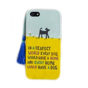 Phone Case Dog - Home iPhone 5 Handycover Hülle Natural Life