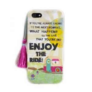 Phone Case Enjoy The Ride iPhone 5 Handycover Hülle Natural Life