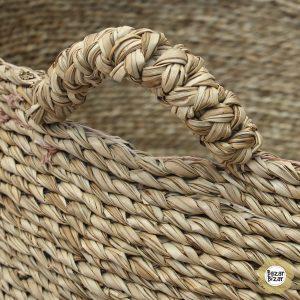 3er Set Vier-Hand Seegras Körbe Boho - Les Quatre Mains Baskets Bazar Bizar