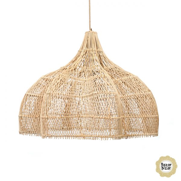 Whipped Lampe Boho Hängelampe L Bazar Bizar