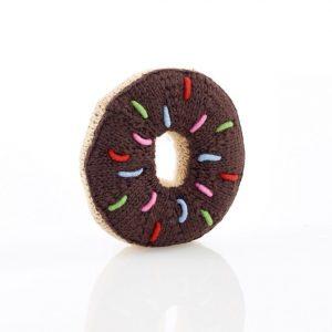 Pebble Donut Schokoladen Rassel